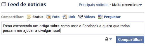 Feed noticias Facebook